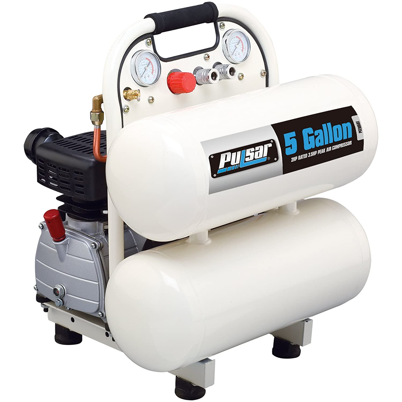 Amazon.com : Pulsar PCE6280 Vertical Electrical Air Compressor, 28-Gallon : Garden & Outdoor