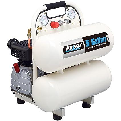 Electric Air Compressor >> Pulsar Pce6050t Twin Tank Electrical Air Compressor 5 Gallon
