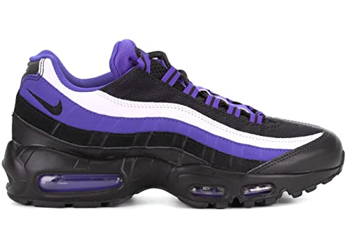 online store b85e0 03309 Nike Men s Air Max 95 Essential Running Shoes, Lila Schwarz Weiß (Persisch