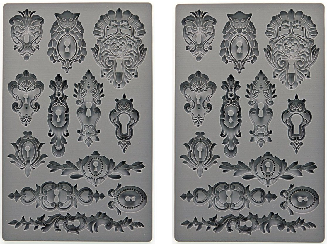 Prima Marketing Iod Vintage Art Decor Moulds -KEYHOLES Prima Marketing Inc 655350815301