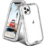 ORIbox Case Compatible with iPhone 13, Heavy Duty Shockproof Anti-Fall Clear case Crystal Clear