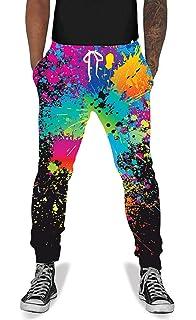 0c5cbb4da3 UNIFACO Unisex 3D Digital Print Sports Jogger Pants Casual Graphic Trousers  Sweatpants with Drawstring