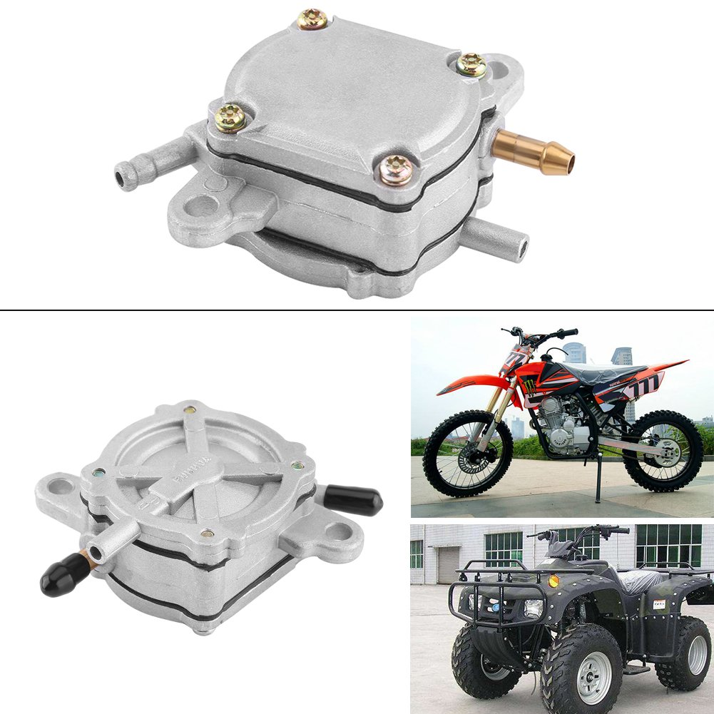 Qiilu Kraftstoffpumpe f/ür GY6 50CC 150CC 250CC Motorroller Moped Go Kart
