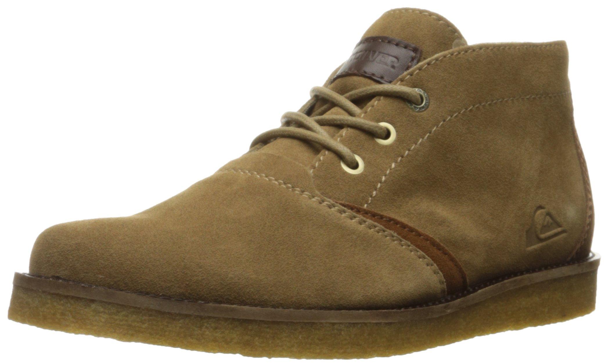 Quiksilver Men's Harpoon Chukka Boots, Brown/Brown/Brown, 7 M US