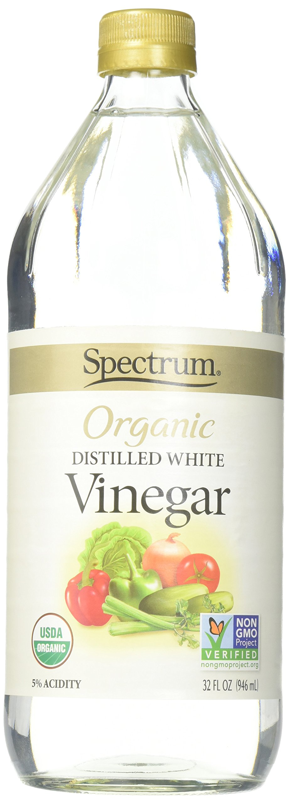 Spectrum Naturals Organic White Distilled Vinegar, 32 Ounce