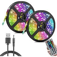 1/3/5/10/20 m LED-strip kleurverandering LED-lichtketting RGB 12V 60LEDs/M SMD LED-strip strip met USB-kabel voor…