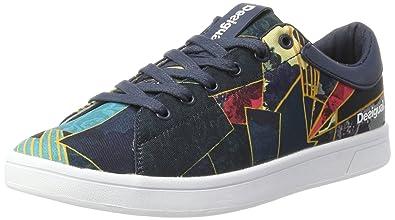 Desigual Baloncesto Zapatos Pantalones Cortos de Mezclilla Parche 17 WKRW27 5188: Amazon.es: Zapatos y complementos