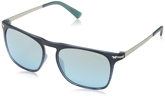 Sunglasses SPL169 Wager 1 Oval Polarized Sunglasses 52mm, Semi Matt Brown Police