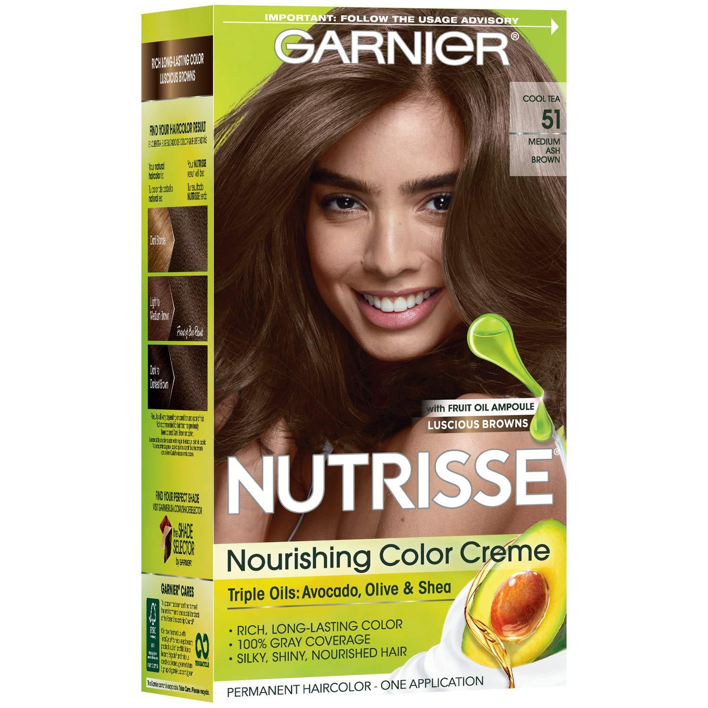Garnier Nutrisse Nude Hair Dye 6.132 Light Brown | Hair