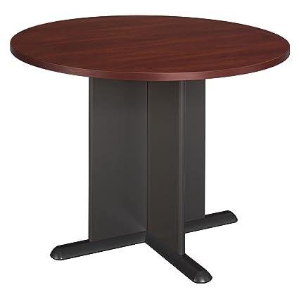 Amazoncom Bush Business Furniture Inch Round Conference Table - 42 inch round conference table