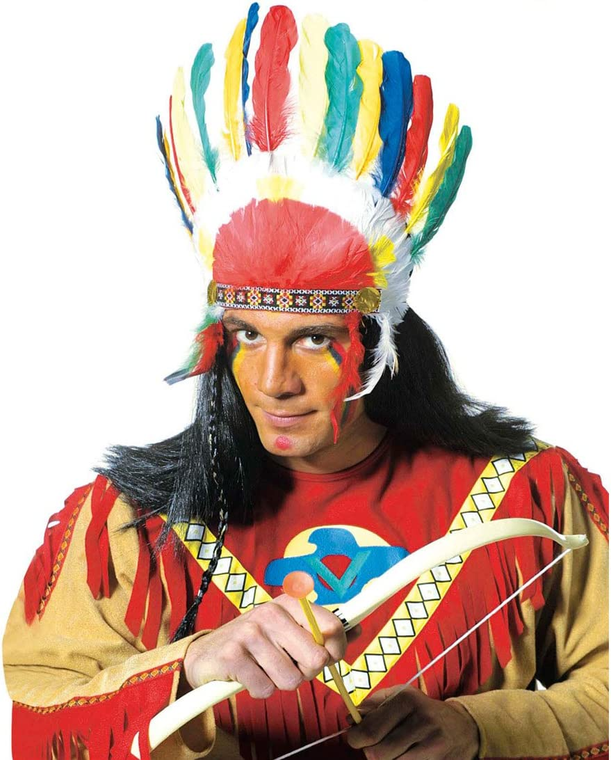Tienda de joyería con plumas de la cabeza accesorio para disfraz ...