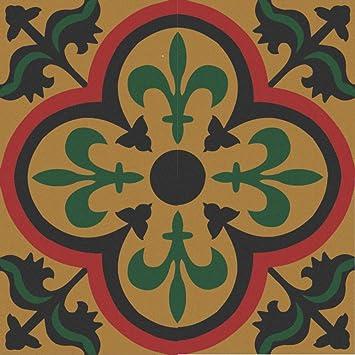 Zementfliesen Jamila Orientalische Fliesen Marokkanische - Mosaik fliesen marokko