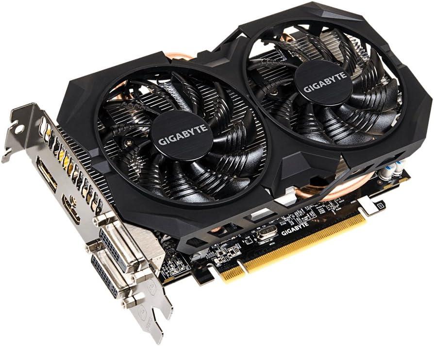 Gigabyte AMD R7 370 256 Bit GDDR5 2GB 2xDVI//HDMI//DP Overclocked Graphics Card GV-R737WF2OC-2GD