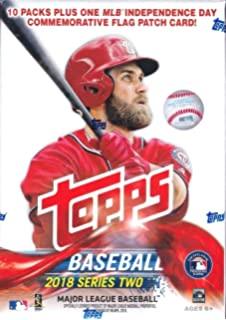 Amazoncom Topps 2018 Baseball Cards Series 1 Baseball Mass Value