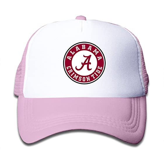 d50ef91a428 switzerland alabama high tide yeti hat 51c32 8a772  sale funny alabama  crimson tide kids baseball trucker caps hat boys girls adjustable one size  pink