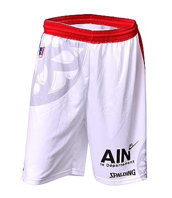 JL Bourg - Pantalón Corto Oficial de Baloncesto para niño ...