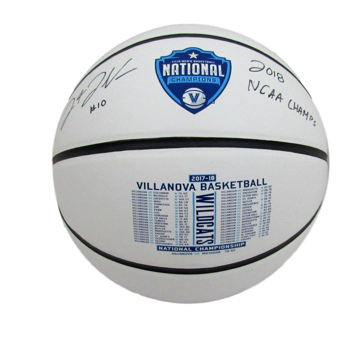 Donte DiVincenzo Villanova 2018 National Champions Signed Basketball JSA 137019 Best Authentics