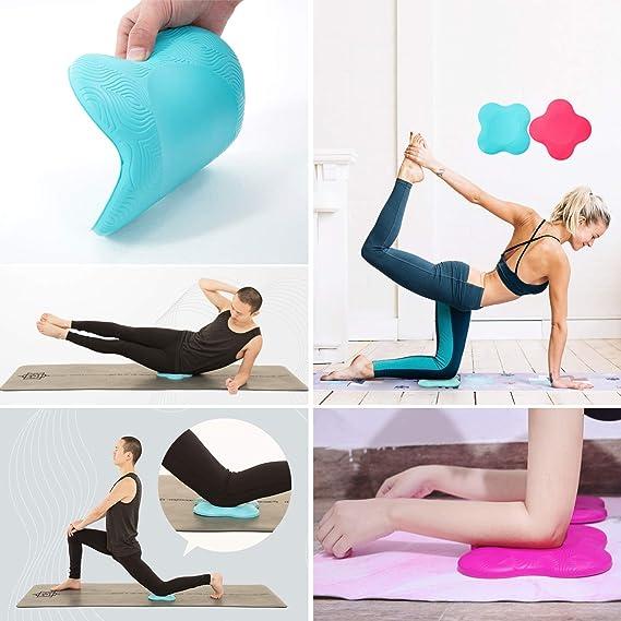 Amazon.com: SparkSong - Rodillera de yoga para yoga y ...