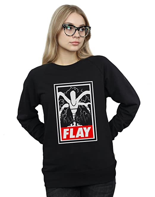 Drewbacca Mujer Obey The Mind Flayer Camisa De Entrenamiento: Amazon.es: Ropa y accesorios