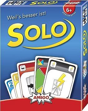 jeu de carte solo Amazon.com: AMIGO 3900