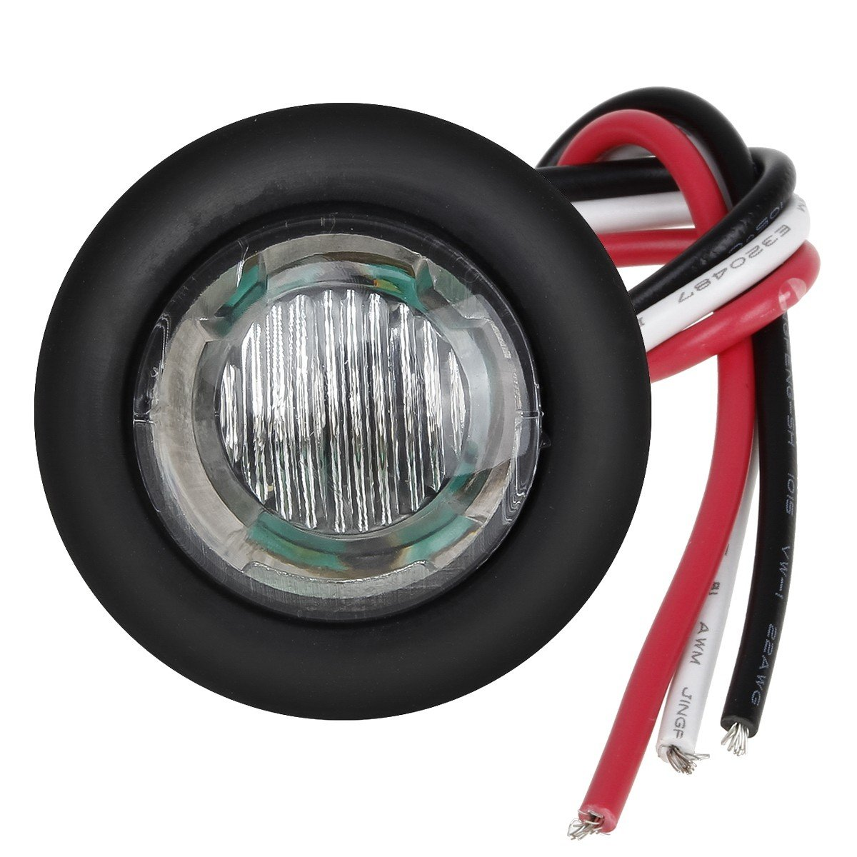 3 4 Led Marker Lamp Wire Clear Amber Team Tech Offroad Harness Grommets It Does Not Plug Directly Into The Vehicles Wiring Harnessit Will Require Cutting And