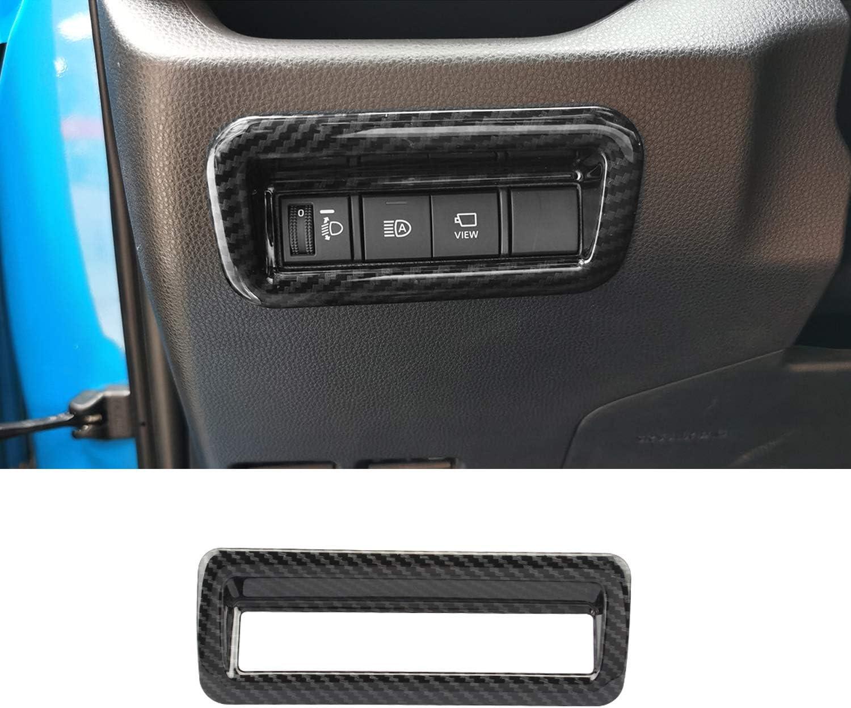 1pc Tocatus for 2019 2020 Toyota RAV4 Headlight Switch Trim