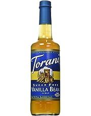 Torani Sugar Free Vanilla Bean Flavor Syrup, 750ml