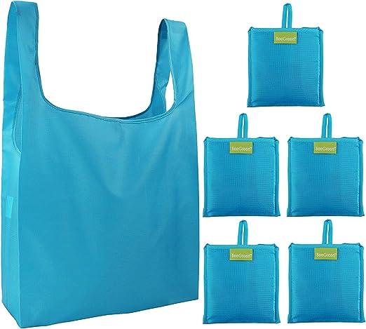 Amazon.com: Bolsas plegables y reutilizables para la compra ...