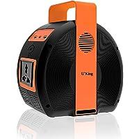 UKing - Acumulador de energía portátil 155 W/42000 mAh, generador solar con inversor de corriente CC/AC, carga mediante…