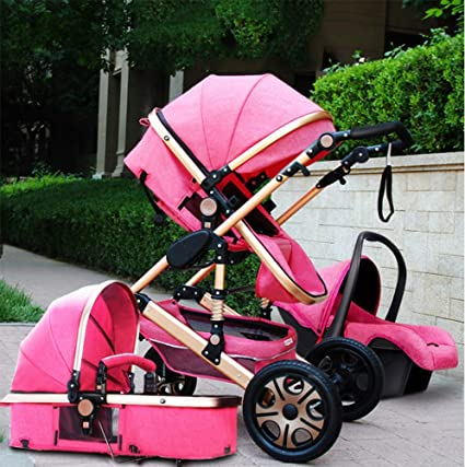 Pink day Silla de Paseo, Amortiguador de Dos vías, Plegable ...