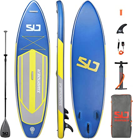 Swonder Premium Inflatable Stand Up Paddle Board, Ultra Durable & Steady, 116