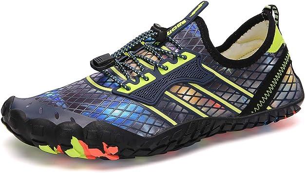 CFPPX Barefoot Zapatillas de Trail Running Minimalistas Zapatillas de Deporte Exterior Interior Zapatos de Deportes Acuaticos,Unisex-Adulto: Amazon.es: Deportes y ...