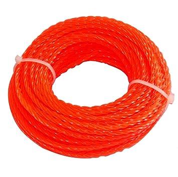 AERZETIX: Hilo de nylon perfil retorcido twist 2.4mm 15m para ...