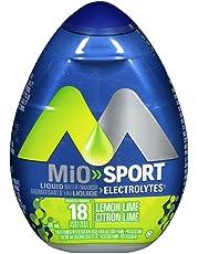 MiO Sport Lemon Lime Electrolyte Liquid Water Enhancer, 48mL