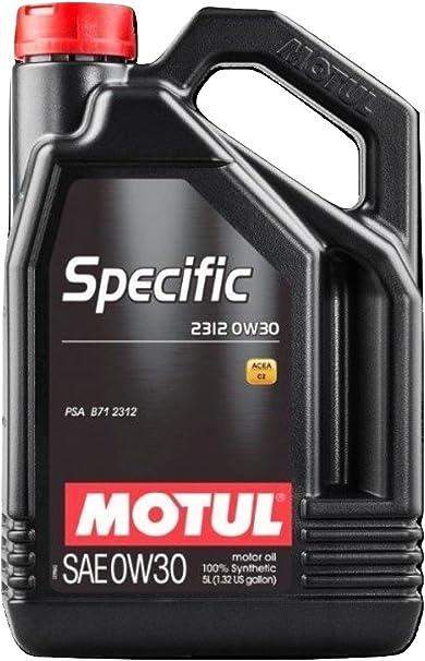 Spezielles Schmieröl Specific B71 2312 0w30 5l Auto