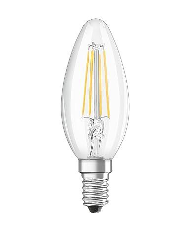 Osram Retrofit Classic B Lámpara LED E14, 4 W, Blanco No regulable