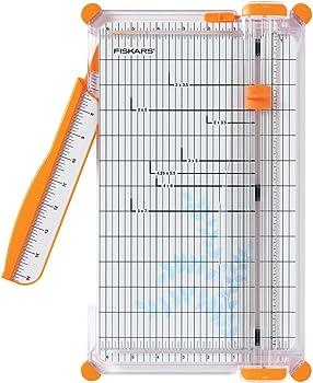 Fiskars 152490-1004 SureCut Deluxe Craft Paper Trimmer