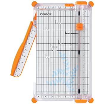 Fiskars 152490-1004 12 inches SureCut Deluxe Craft Paper Trimmer