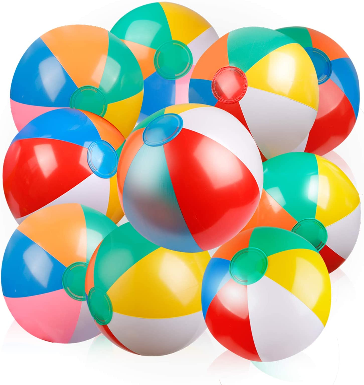 40cm Hamburger Beach Ball Inflatable Fun Games Kids Pool Summer Toy