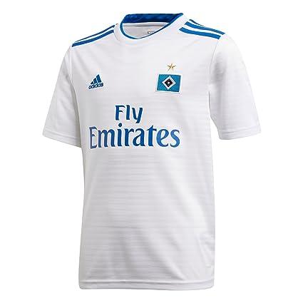922dfb95e Amazon.com   adidas 2018-2019 Hamburg Home Football Soccer T-Shirt ...