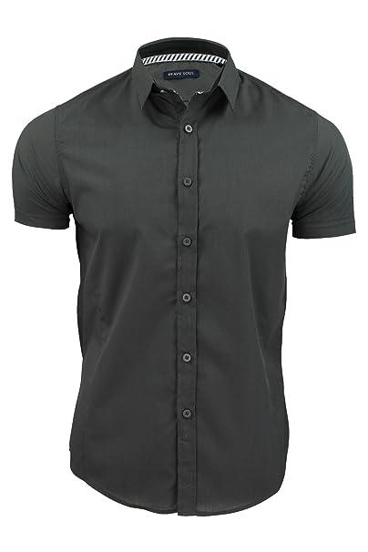 Brave Soul - Camisa casual - para hombre JCGfJIN