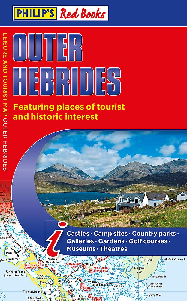 Philip's Outer Hebrides  Leisure And Tourist Map 2020  Philip's Red Books