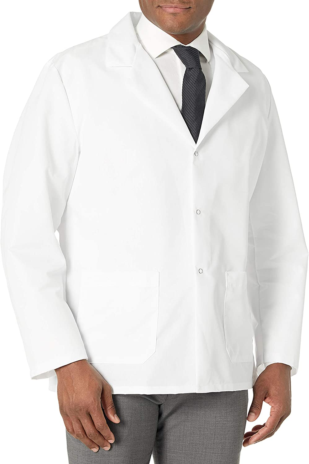 Red Kap Men's Specialized Lapel Counter Coat: Clothing