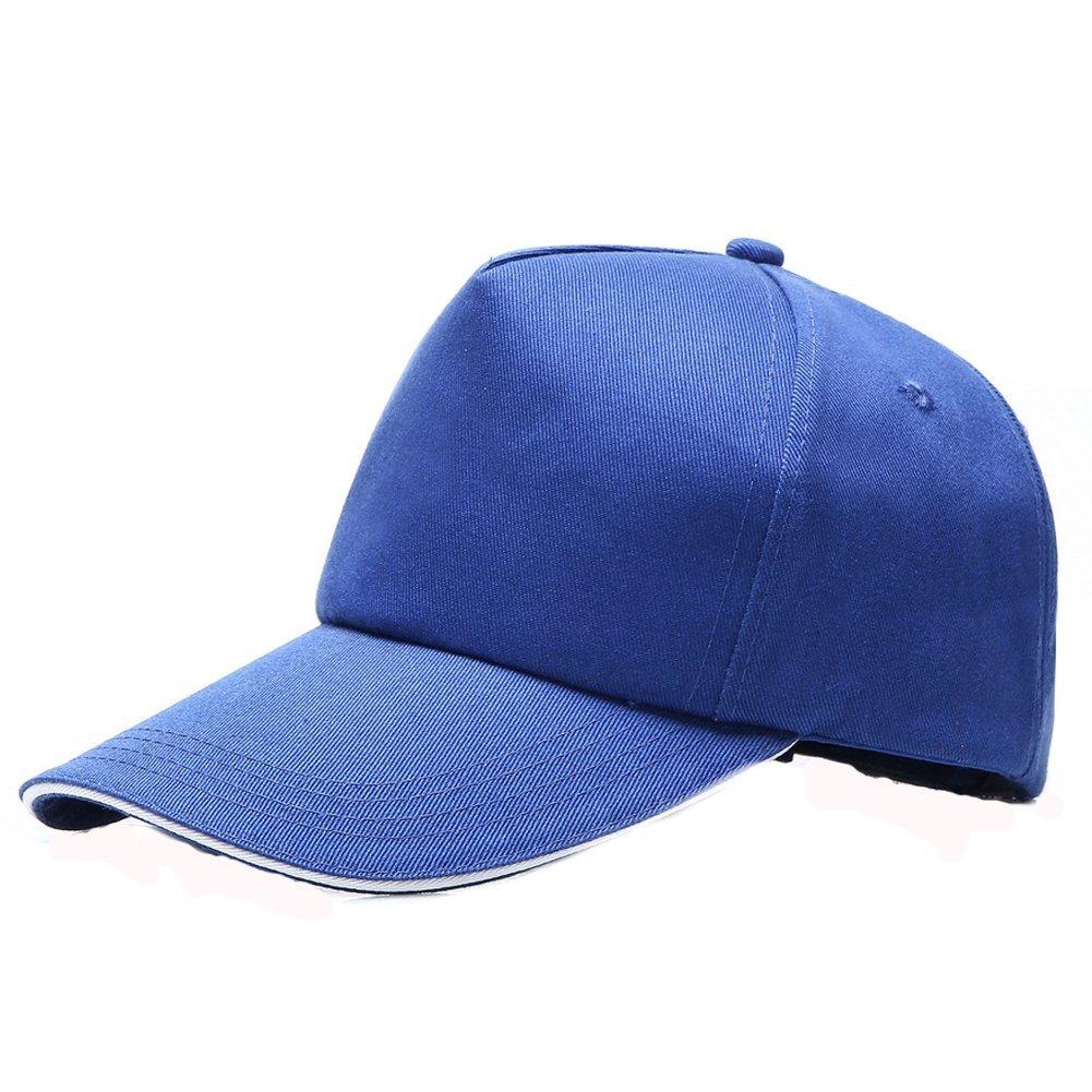 Man9Han1Qxi Creativo Semplice Casual Unisex Berretto da Baseball Regolabile Sport all' Aria Aperta Colore Solido Visiera Cappello -5#