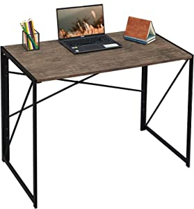 Coavas Folding Desk No Assembly Required, 31