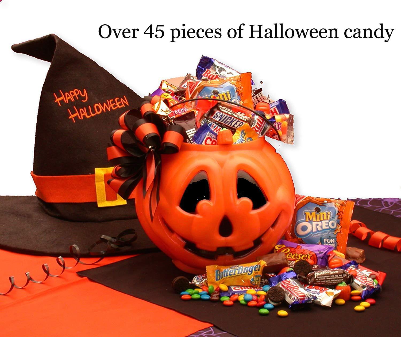 Tricks or Treats Halloween Gift Basket by GiftBasketsAssociates by 2016 Halloween Gifts