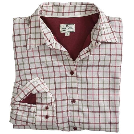 4fa3ec98 Hoggs of Fife Erin Jersey Lined Shirt: Amazon.co.uk: Clothing