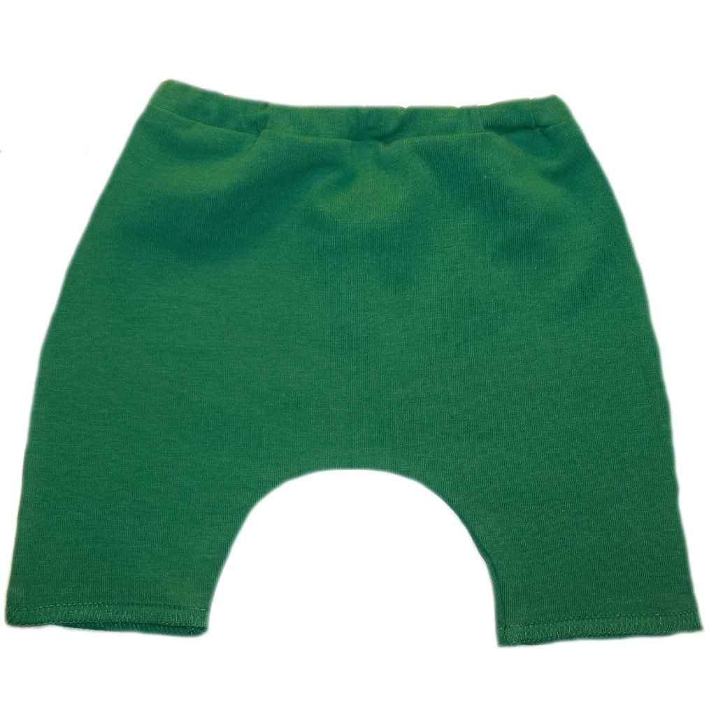Jacquis Baby Boys Kelly Green Cotton Bike Shorts