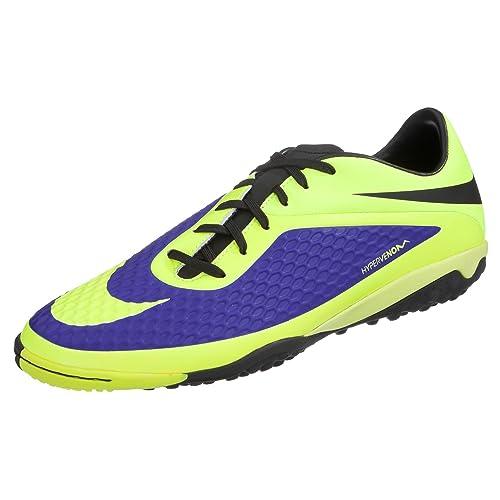 Tenis De Soccer Nike Hypervenom Para Hombre Simipiel Verde 5