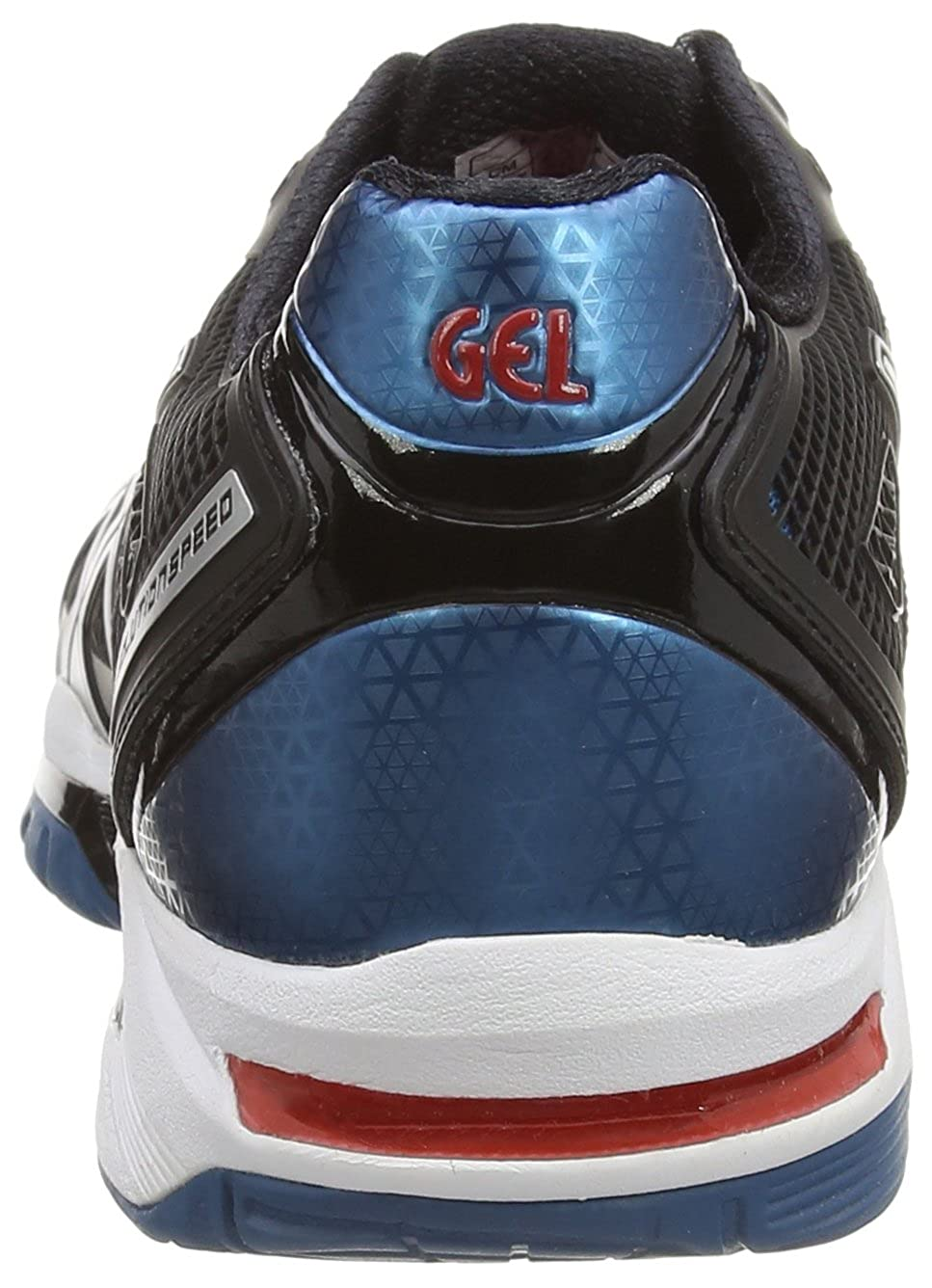 ASICS Gel-Solution Speed 2, Zapatillas de Tenis para Hombre, Negro (Onyx/Silver/Mosaic Blue 9993), 39.5 EU: Amazon.es: Zapatos y complementos